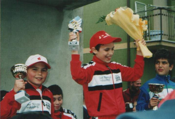 Silvio Giorni un ragazzino di Sinalunga Campione Italiano di Ciclismo