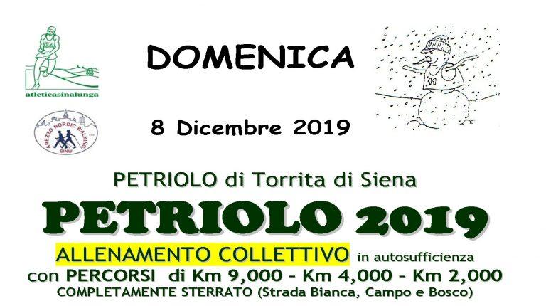 08 Dicembre 2019 Petriolo di Torrita di Siena Allenamento collettivo