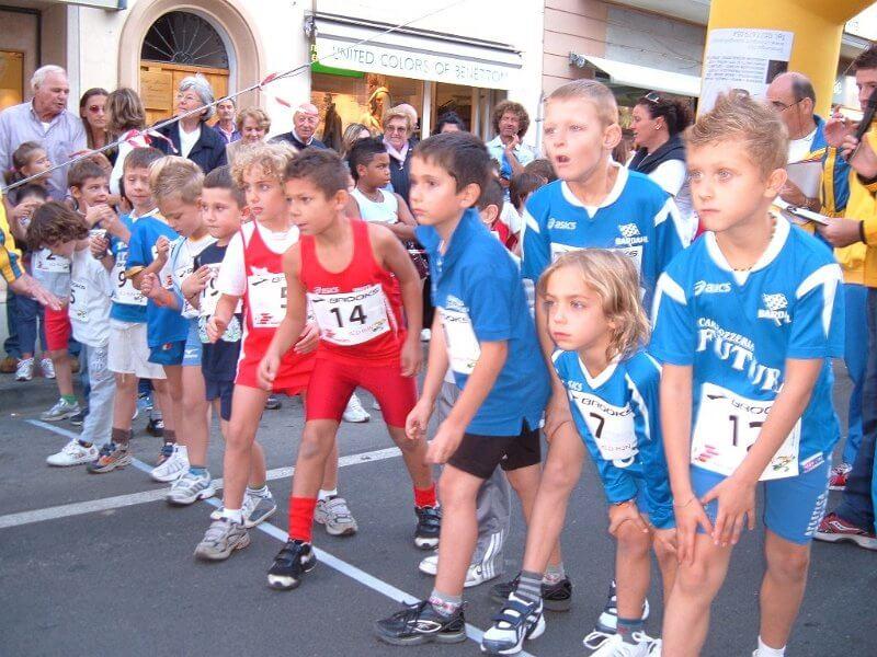 Kid Run Centro Storico di Pieve di Sinalunga 09/10/2010