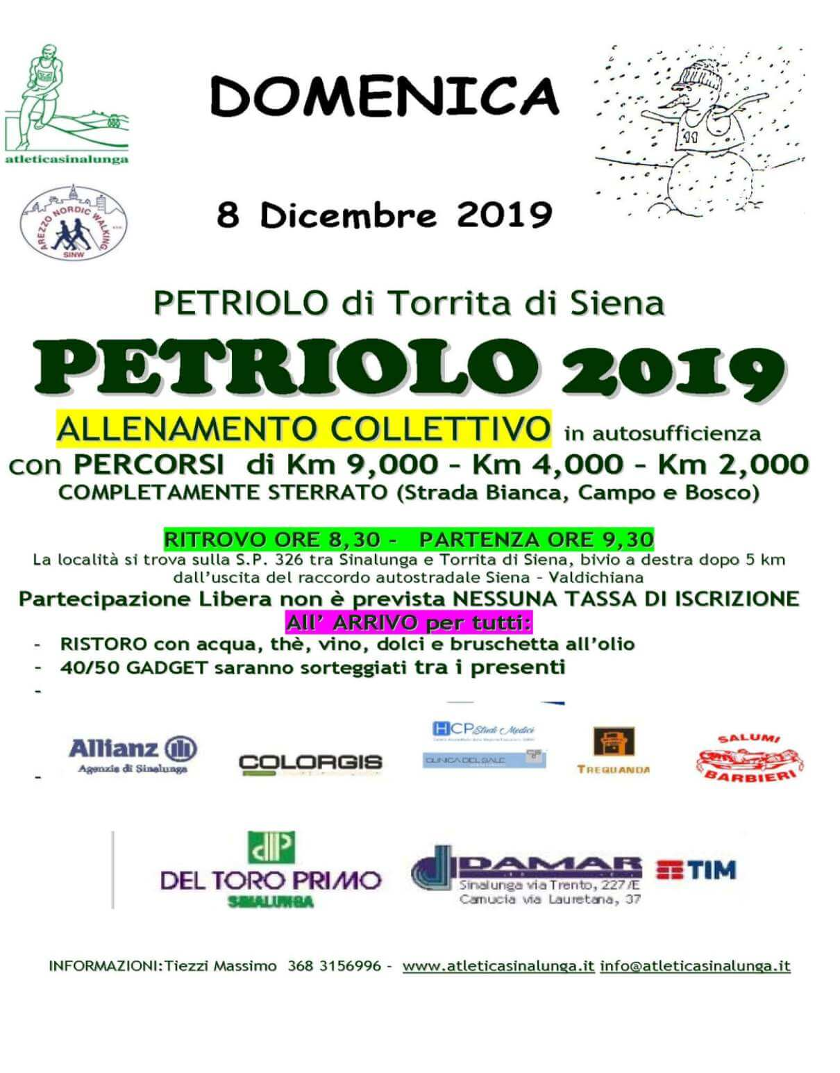 Volantino Petriolo 2019