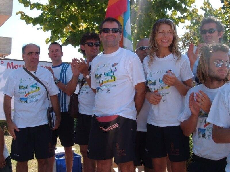 Staffetta della Pace Sinalunga Loreto (AN) 5-6/09/2009